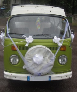 Combi Vert au mariage