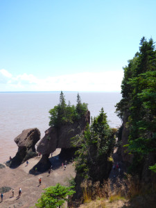 25 juillet 2016-Hopewell rocks